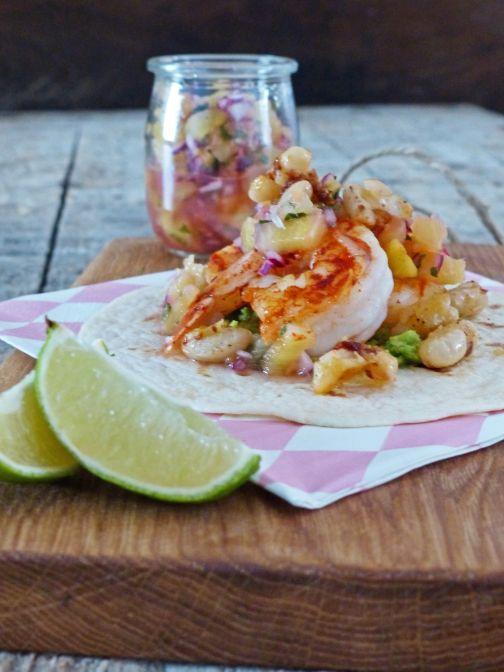 garnalen taco Smulpaapje