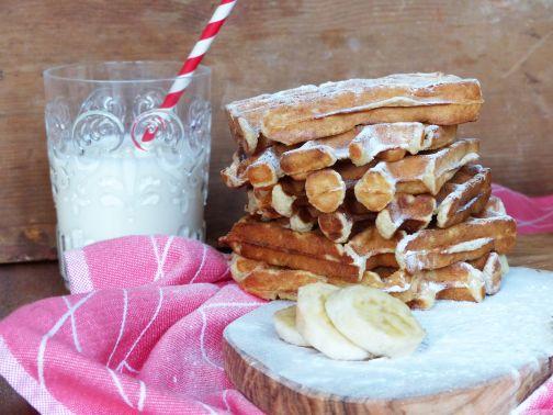 Banana bread wafel Smulpaapje