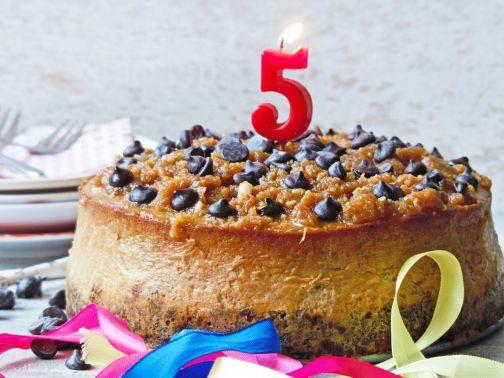Smulpaapje 5 jaar taart