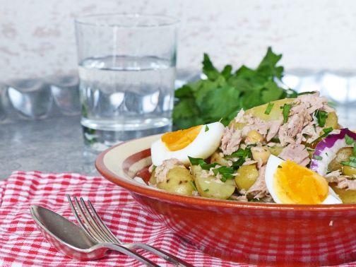 tonijnaardappel salade Smulpaapje