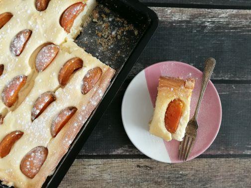 abrikozen hangop taart Smulpaapje