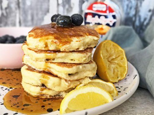 Lemonblueberry pancakes Smulpaapje