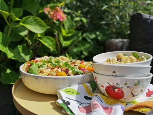 BLT pasta salade Smulpaapje