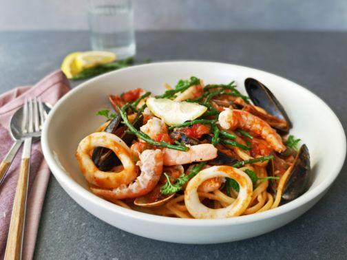 Spaghetti Marinara Smulpaapje