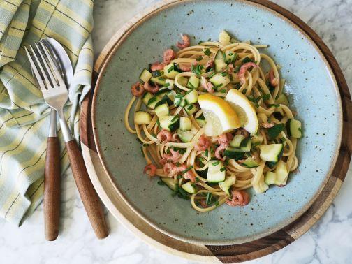 Spaghetti Hollandse garnalen en courgette_Smulpaapje.jpg