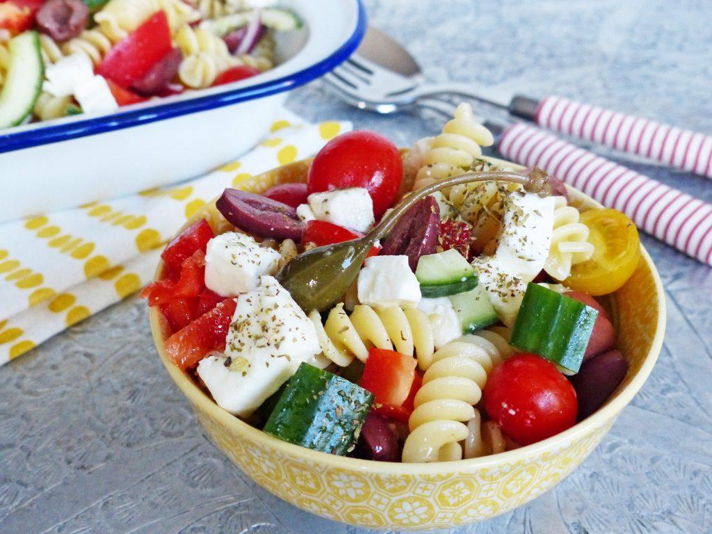 Griekse pastasalade Smulpaapje