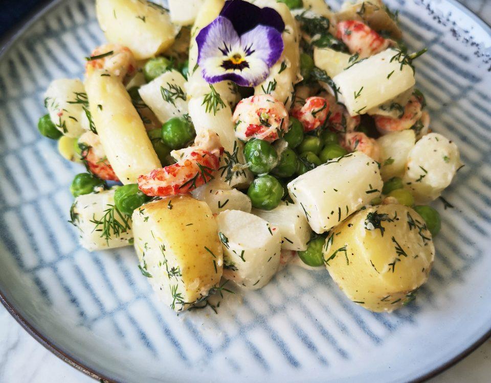 Asperge aardappelsalade