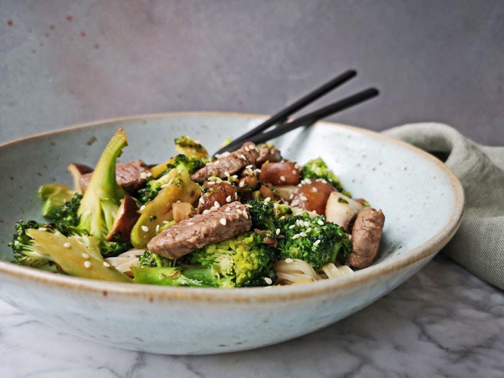 wokrecept met broccoli