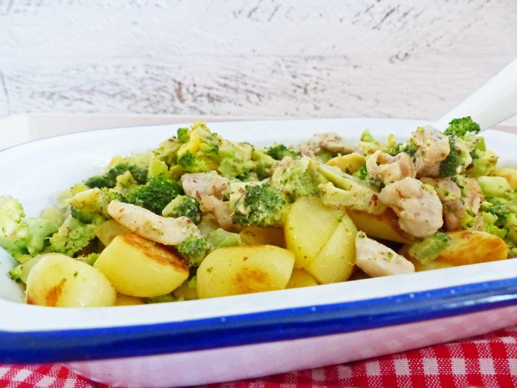 aardappel met broccoli