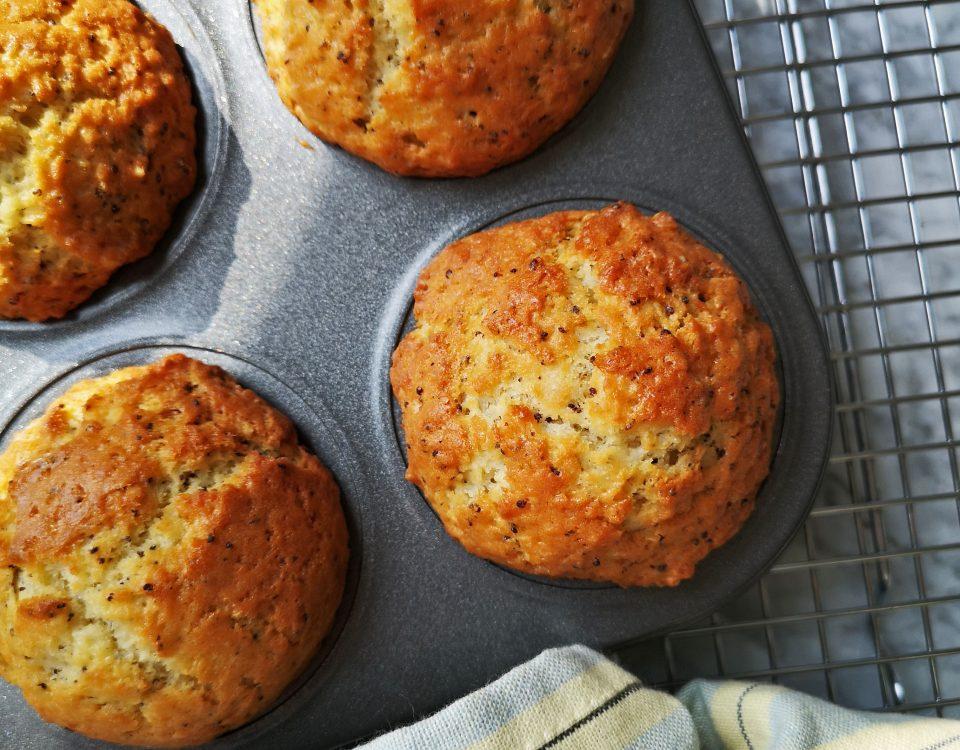muffins met citroen