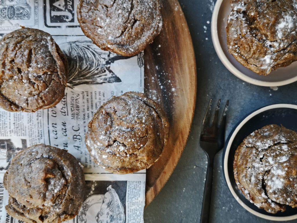 muffins met pompoen