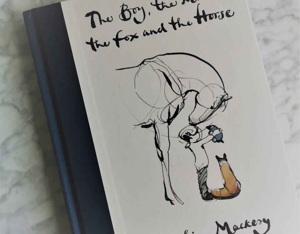 boek de jongen, de mol, de vos en paard