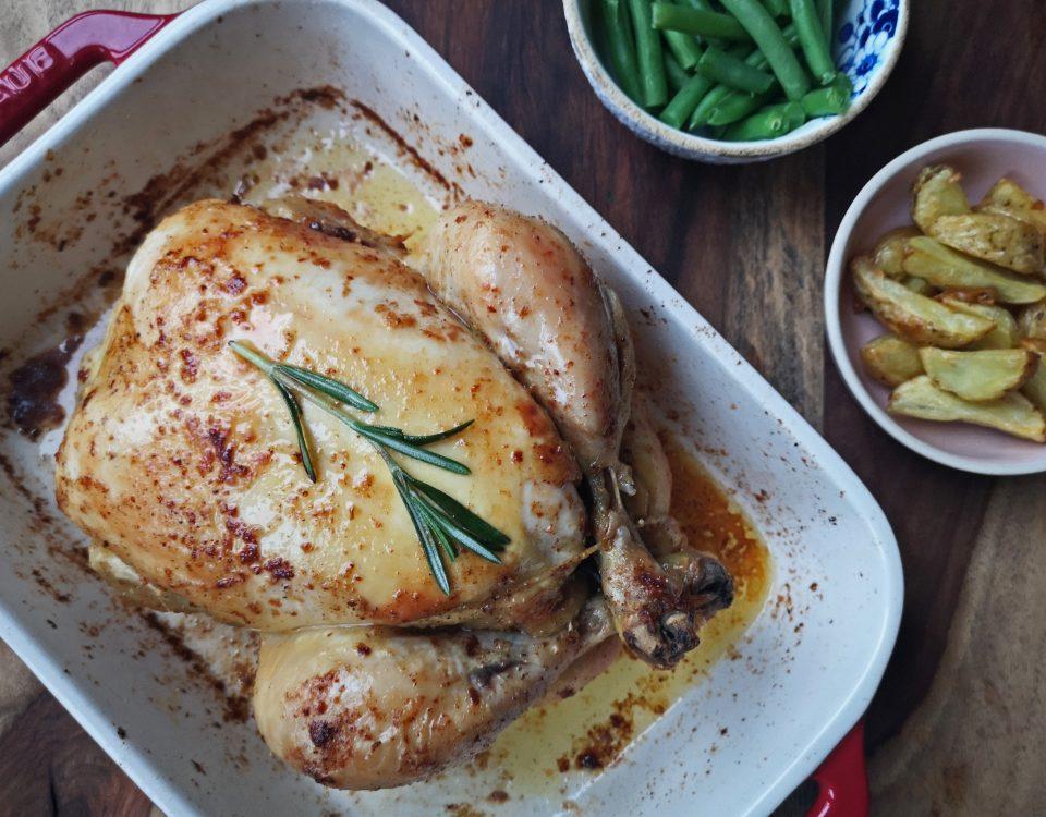 perfect gebraden kip