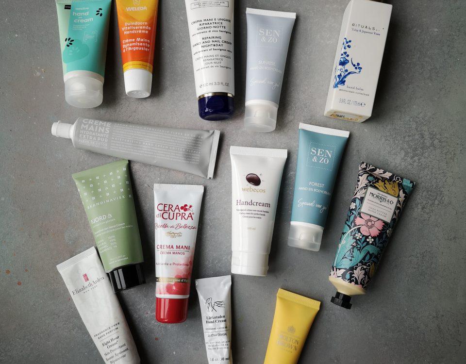 grote handcrème test Susan Aretz