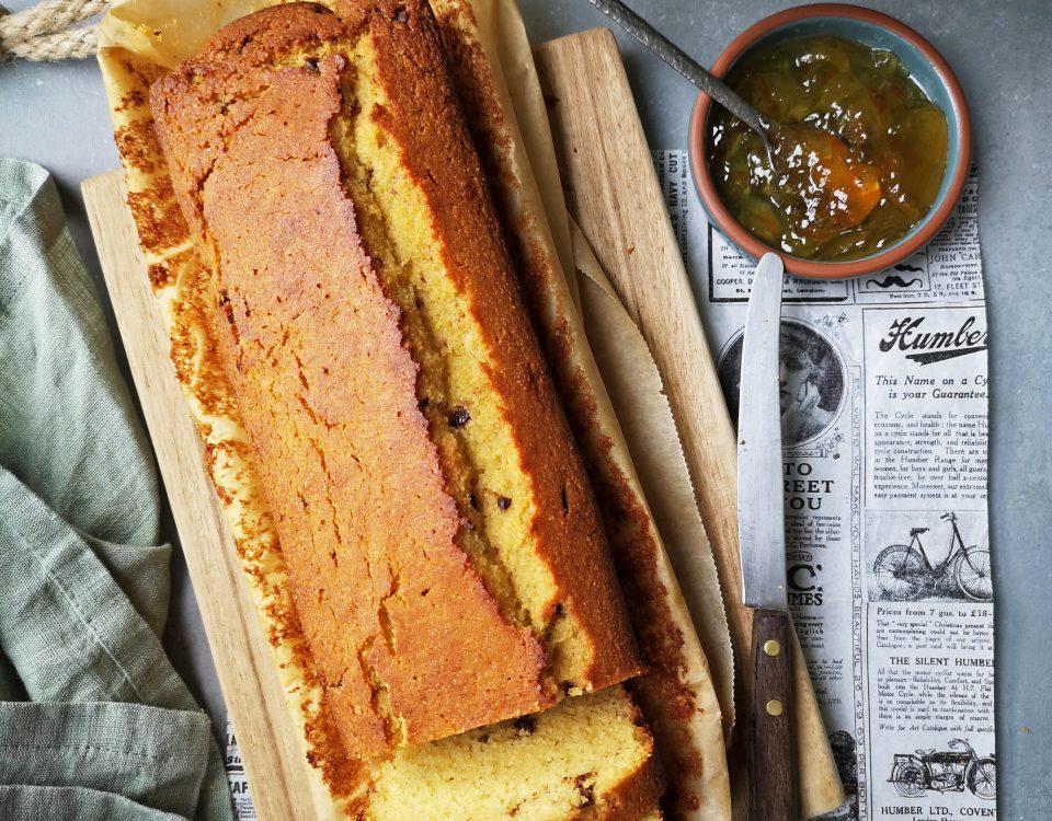 cake met linzen uit Linzen van Joke Boon