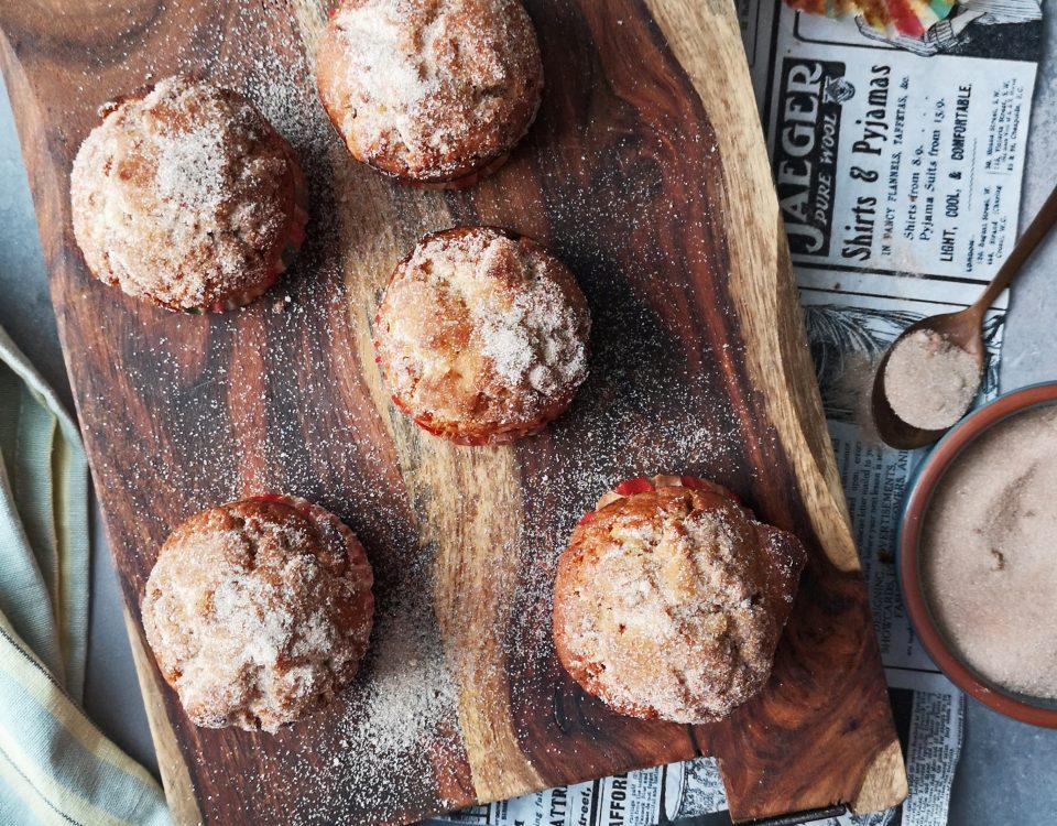 muffins met suiker