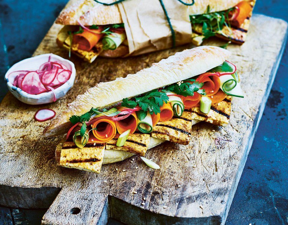vegan baguettes