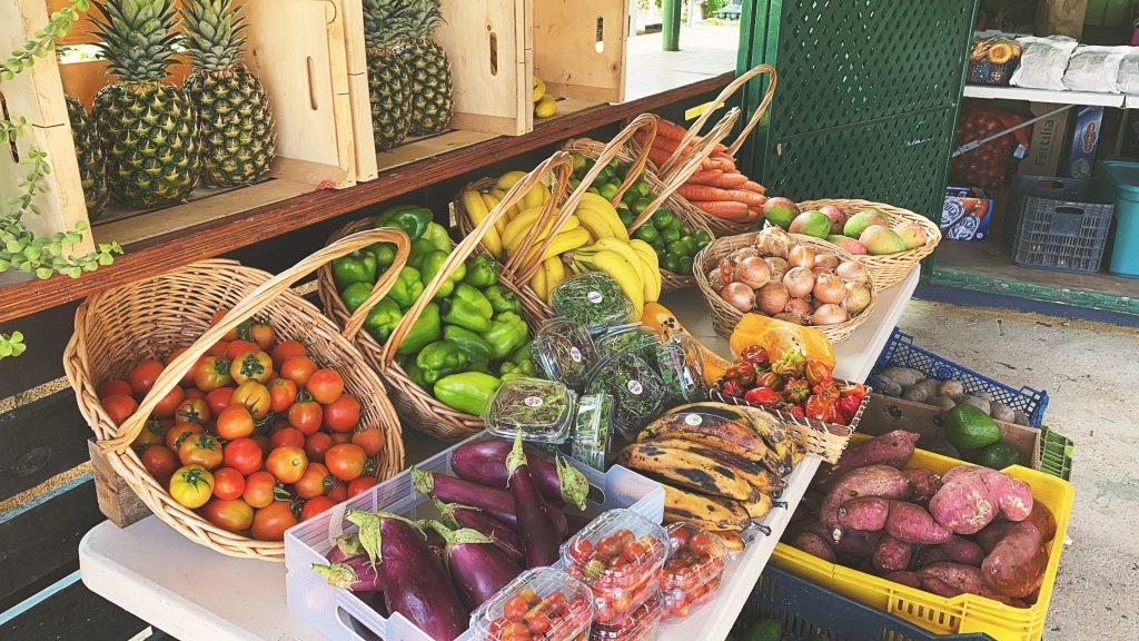 Curacao groente en fruit