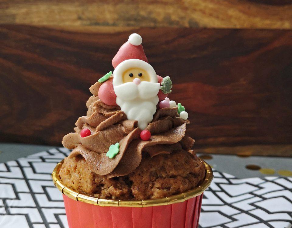 Muffins met mokkacrème
