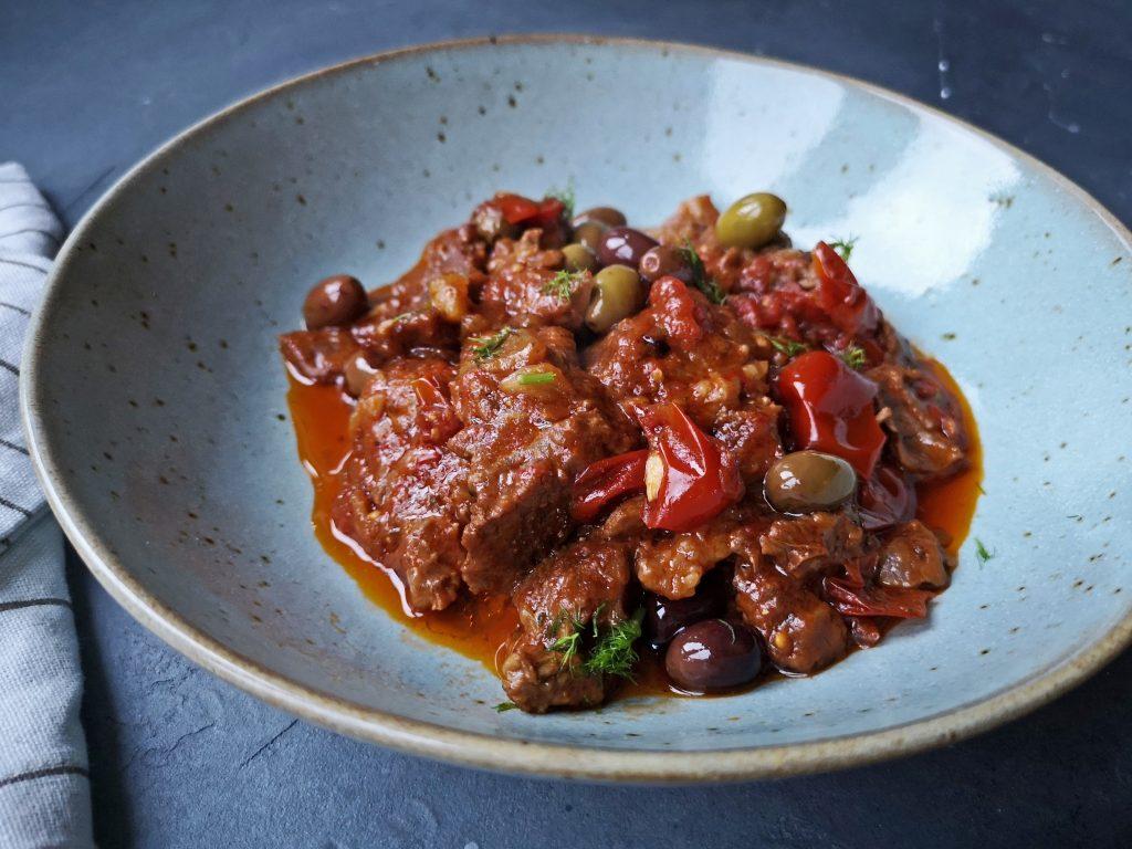 stoofvlees met olijven