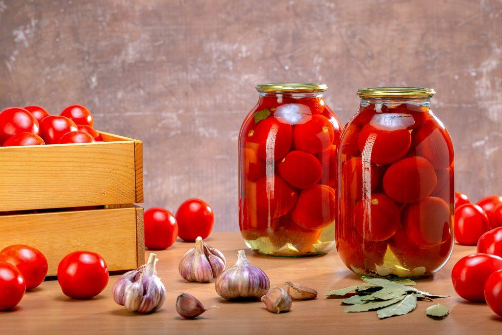 verse en verwerkte tomaten