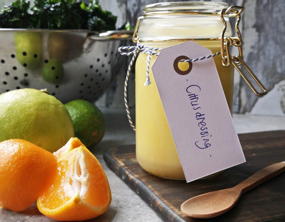 dressing met citrus