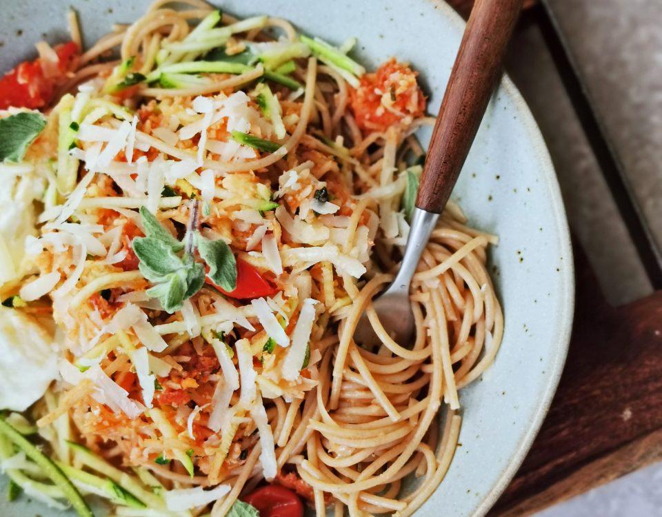 groente spaghetti bolognese