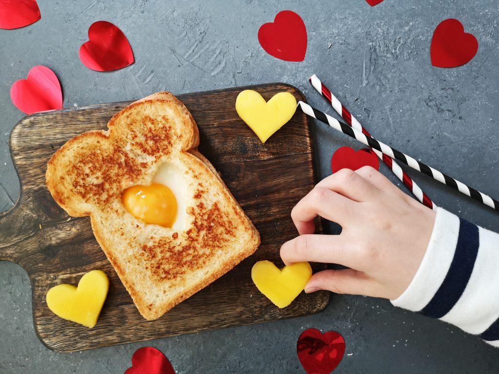 hartig valentijnsontbijt
