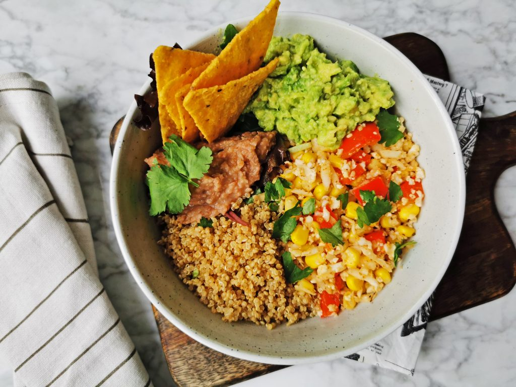 taco bowl vegan