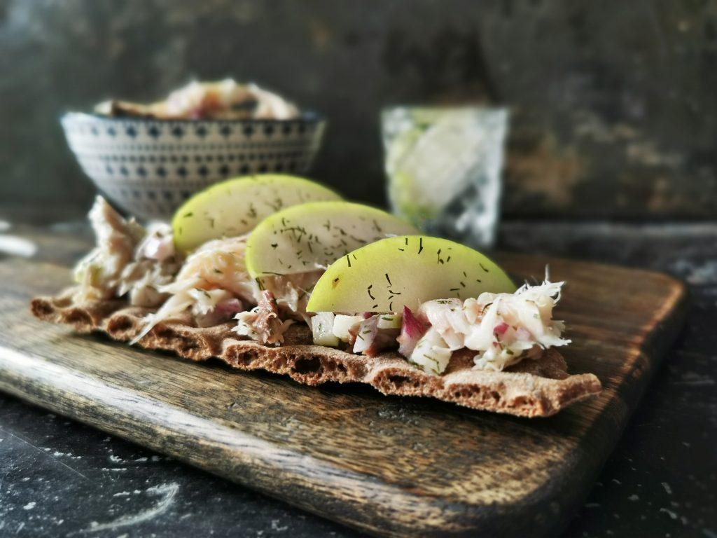 gerookte makreel recept