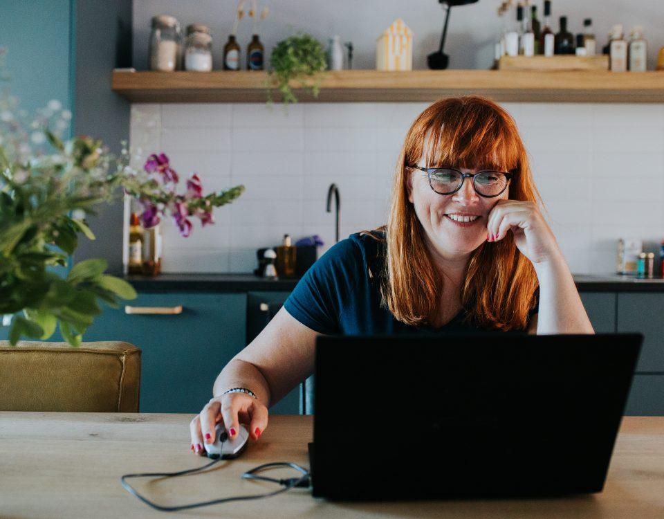 Susan Aretz laptop