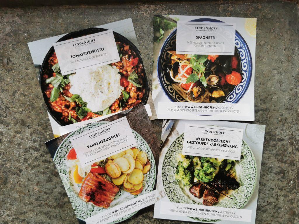 menu maaltijdbox lindenhoff