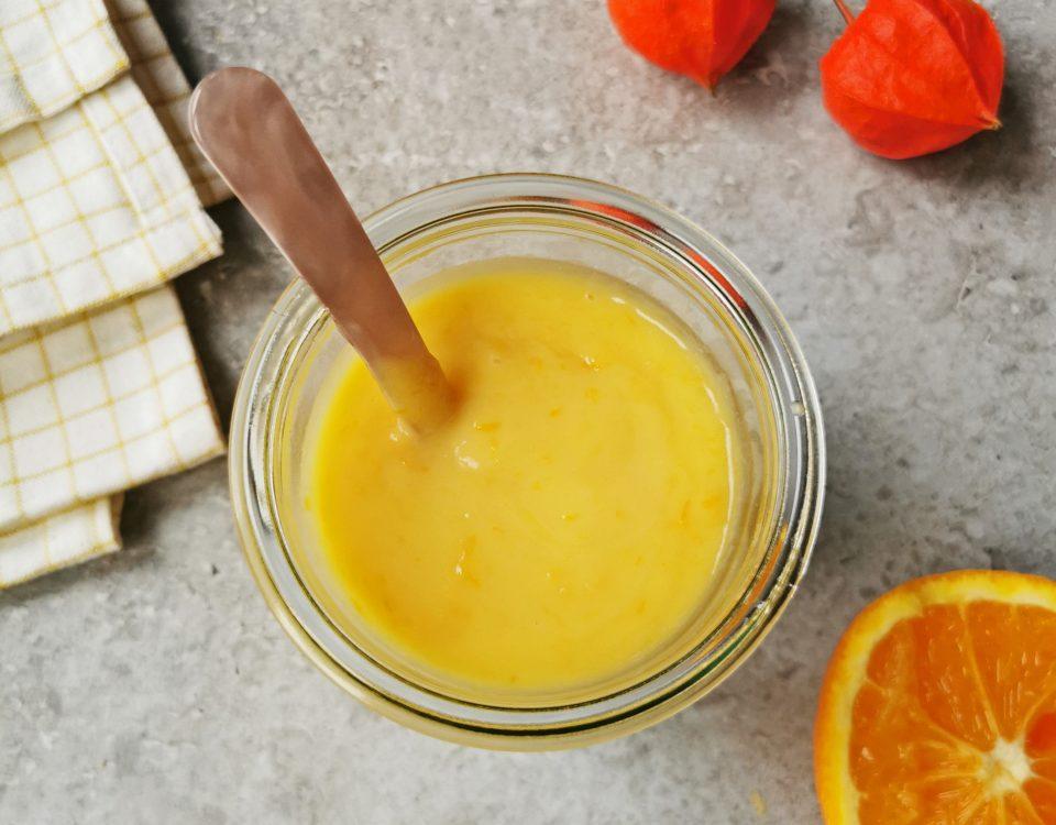 recept sinaasappel curd